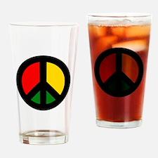 Rasta Ban the Bomb Drinking Glass