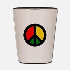Rasta Ban the Bomb Shot Glass
