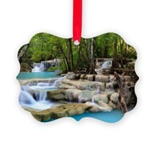 Cute Waterfall Ornament