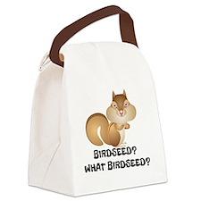 BIRDSEED? WHAT BIRDSEED/ Canvas Lunch Bag