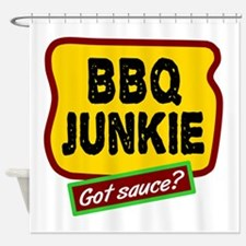 BBQ Junkie Shower Curtain