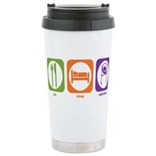Cute Eat sleep drum Travel Mug
