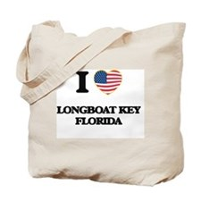 I love Longboat Key Florida Tote Bag
