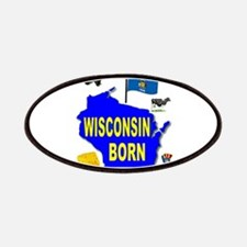 WISCONSIN BORN Patch