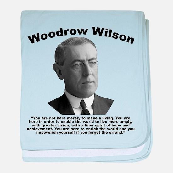 Wilson: Errand baby blanket