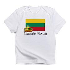 Cute Lithuanian map Infant T-Shirt