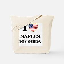 I love Naples Florida Tote Bag