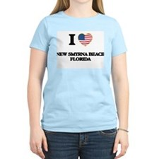 I love New Smyrna Beach Florida T-Shirt