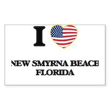 I love New Smyrna Beach Florida Decal