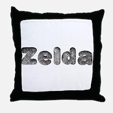 Zelda Wolf Throw Pillow