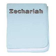 Zechariah Wolf baby blanket