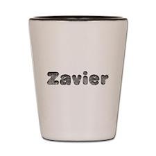Zavier Wolf Shot Glass