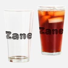 Zane Wolf Drinking Glass