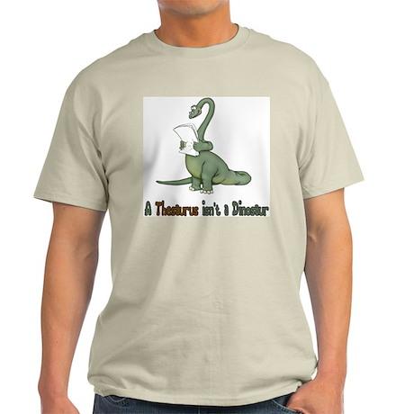 Thesaurus Dinosaur Light T-Shirt