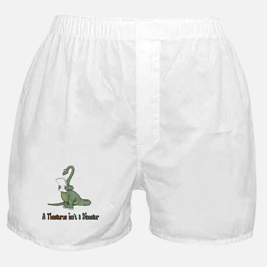 Thesaurus Dinosaur Boxer Shorts