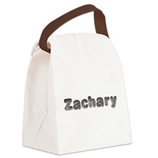 Zachary Wolf Canvas Lunch Bag
