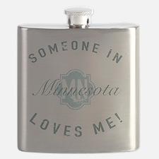 Someone In Minnesota Flask
