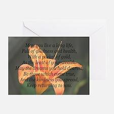 True Wealth Irish Blessing Greeting Cards (Pk of 2