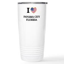 I love Panama City Flor Travel Mug