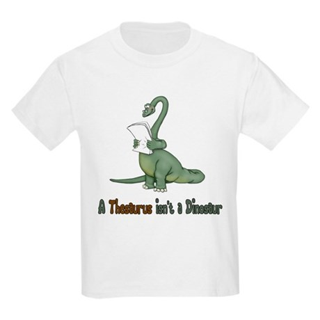 Thesaurus Dinosaur Kids Light T-Shirt
