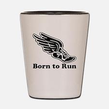 Born to Run Shot Glass