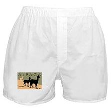 Alpacas Hillside Boxer Shorts