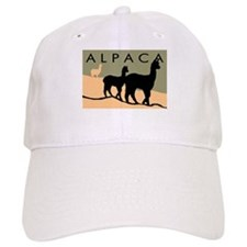 Alpacas Hillside Baseball Cap