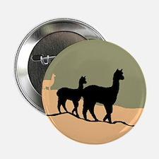 Alpacas Hillside Button
