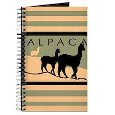 Alpacas Hillside Journal