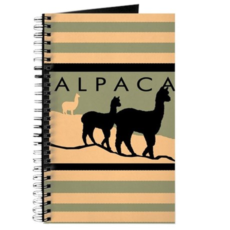 Alpacas Hillside Journal