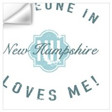 Someone In New Hampshire Wall Decal