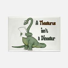 Thesaurus Dinosaur Rectangle Magnet