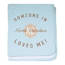 Someone In North Carolina baby blanket