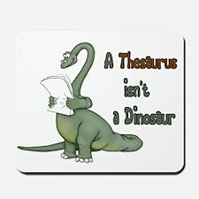 Thesaurus Dinosaur Mousepad