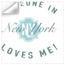 Someone In New York Wall Decal