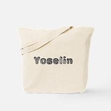 Yoselin Wolf Tote Bag