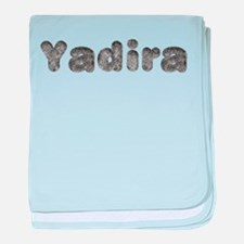 Yadira Wolf baby blanket