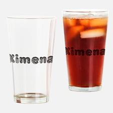 Ximena Wolf Drinking Glass