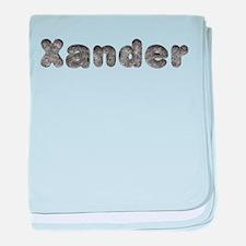 Xander Wolf baby blanket