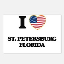 I love St. Petersburg Flo Postcards (Package of 8)
