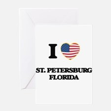 I love St. Petersburg Florida Greeting Cards