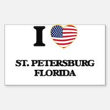 I love St. Petersburg Florida Decal