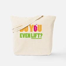 Cute Lifted Tote Bag