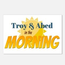 Troy and Abed in the Morn Postcards (Package of 8)