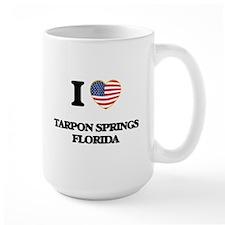 I love Tarpon Springs Florida Mugs