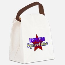 Inspector Spacetime Canvas Lunch Bag