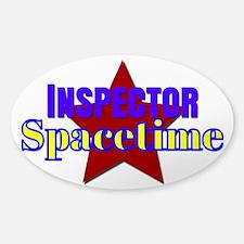 Inspector Spacetime Decal
