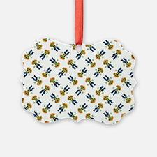 FROG SHERIFF Ornament