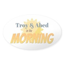 Troy and Abed in the morning Decal