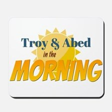Troy and Abed in the morning Mousepad